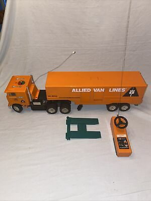 £35.79 • Buy Vintage Nikko 1977 Radio Controlled Allied Van Lines Truck With Trailer Tested