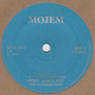 £60 • Buy Jimmy James Loving You Is Easy EP Mojem BECK 857 Soul Northern Motown