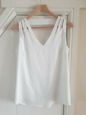 £25 • Buy Reiss New White Top Size 10