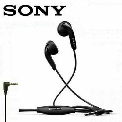 £4.90 • Buy Sony Handsfree Earphones Headphones For Sony Xperia Devices With 3.5mm Jack Blk