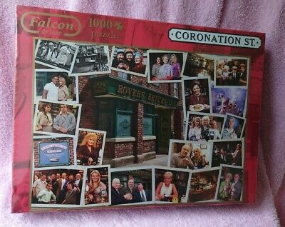 £10 • Buy Falcon De Luxe Puzzle 1000 Piece, Coronation Street, Life At The Rovers, NEW