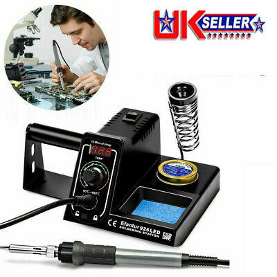 £19.98 • Buy WEP Soldering Iron Station Rework LED 60W Kit Variable Stand Temperature Digital