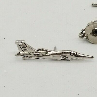 $9.90 • Buy Vintage USAF Air Force Fighter Jet Plane Lapel Tie Tack Military Pin