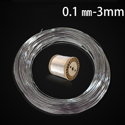 £1.75 • Buy 304 Stainless Steel Wire Smooth Jewellery Making Wire Dia 0.3 - 3mm Soft / Hard