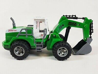 £16.50 • Buy Remote Control Digger Children Kids Toy Excavator Truck Controlled RC Gift UK