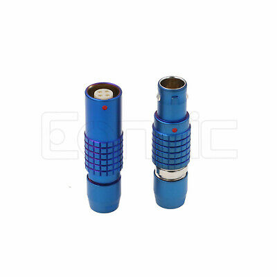 £14.97 • Buy Compatible Lemo Blue 1B PHG FGG 2 3 4 5 6 7 9 Pin Male Female Cable Connector