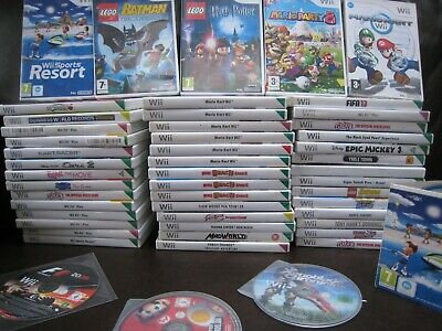 £7.45 • Buy Nintendo Wii Games - Buy 1 Or Build A Bundle & Save!!! - Various From Just £1.95