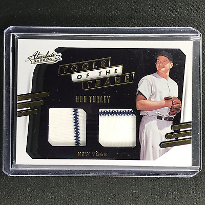 AU14.99 • Buy 2021 Absolute BOB TURLEY Tools Of The Trade 2 Swatch Dual Jersey #BT