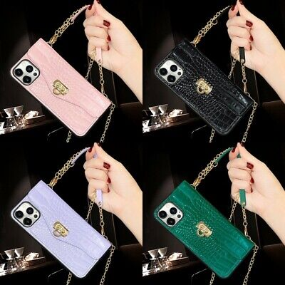 AU16.41 • Buy For IPhone 12 Pro Max 11 XS XR 7 8 Plus Girls Luxury Crossbody Wallet Case Cover