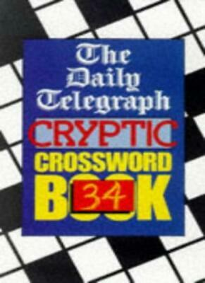 £5.58 • Buy Daily Telegraph  Cryptic Crossword Book: No.34 By Telegraph Group Limited