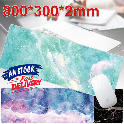 AU16.25 • Buy Desk Mat Gaming Work Mouse Pad Speed Mousepad Anti-slip Rubber Extra Large Size