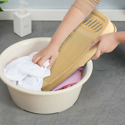 £7.99 • Buy Portable Clothes Cleaning Tools Antislip Laundry Washboard Plastic Washing Board