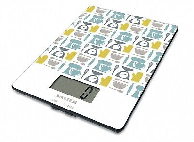 £7.99 • Buy Salter Gadget Digital Kitchen Scales – Electronic Food Weighing Scale