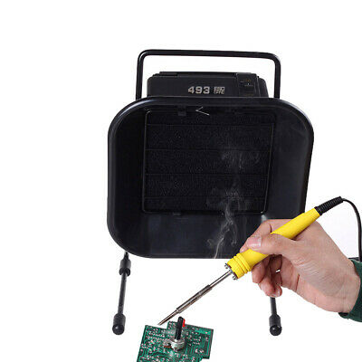 £23.99 • Buy Smoke Absorber Fume Extractor Soldering Air Ventilation BST-493 30W ESD Safe