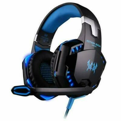 AU28.39 • Buy LED Gaming Headset Earphone Headphones With Mic For Mac Ps4 Xbox PC Laptop 3.5mm