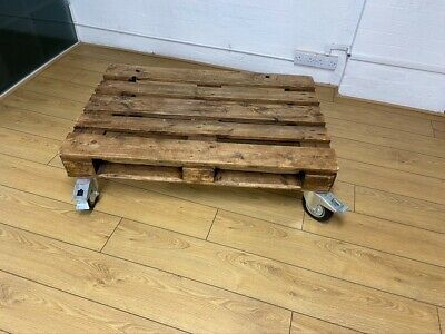 £100 • Buy Pallet Style Coffee Table On Wheels