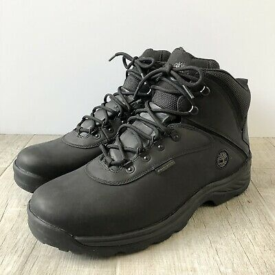 £50.32 • Buy Timberland Men's White Ledge Waterproof Mid Ankle Black Hiking Boots Size 14