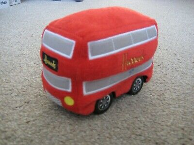 $ CDN8.64 • Buy Harrods Novelty Red London Double Decker Bus Soft Toy Battery Operated