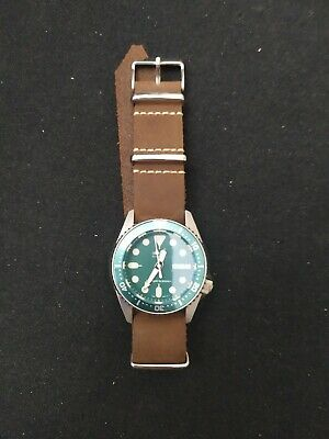 $ CDN415.42 • Buy Seiko Diver SKX013 38mm Version Off SKX007 Modded Green Dial Drilled Lugs NH36