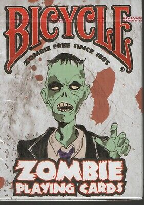£7.50 • Buy 1 Deck Bicycle Zombie Magic / Poker Playing Cards - New & Sealed