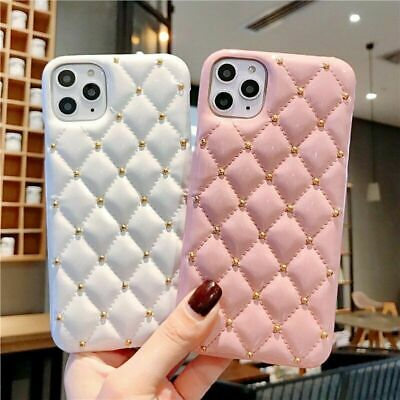 AU14.70 • Buy For IPhone 12 Pro Max 11 XS XR 8 7 6 Plus Girl's Luxury Leather Phone Case Cover
