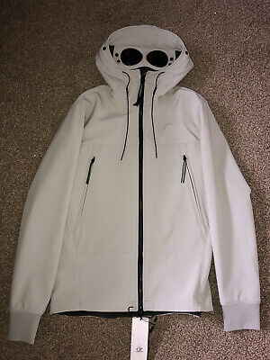 £250 • Buy CP Company Soft Shell Goggle Jacket XL - Off White