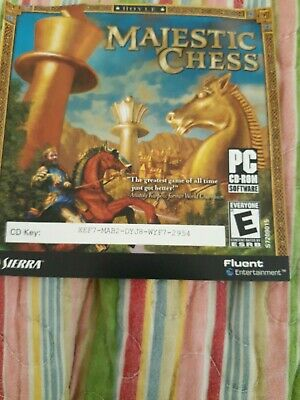 $49.99 • Buy Majestic Chess - PC CD Computer Game Without Instructions In Excellent Cond.