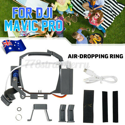 AU46.23 • Buy For DJI Mavic Pro Drone Double Release Air-Dropping Ring Fishing Bait Thrower .
