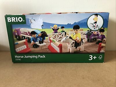 £29.99 • Buy Brio Horse Jumping Pack 33796 Complete, Boxed And Brand New Sealed