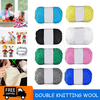 £2.39 • Buy Baby Wool Soft DK Double Knitting Yarn Woolcraft Babycare 100g Balls Multicolor