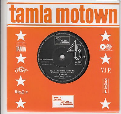 £74.95 • Buy NEW - TEMPTATIONS / KIM WESTON- Forever In My Heart /You Hit Me Where It Hurt Me