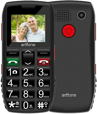 £31.85 • Buy Big Button Mobile Phone For Elderly, Unlocked Sim Free, With SOS Button
