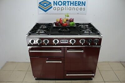 £1600 • Buy Falcon Range Cooker Dual Fuel Steam Cleaned In Good Order 12 Months Warranty 300