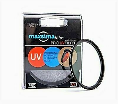 £14.99 • Buy Maxsimafoto - 82mm UV Filter Protector For Nikon Canon & Other Lenses.