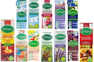 £4.99 • Buy ZOFLORA ANTIBACTERIAL DISINFACTANT  CONCENTRATED Kills 99.9% GERMS Odour