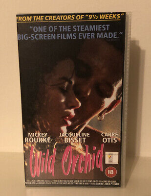 £5.99 • Buy Wild Orchid VHS Video Tape - From The Creators Of Nine And A Half Weeks. 18+
