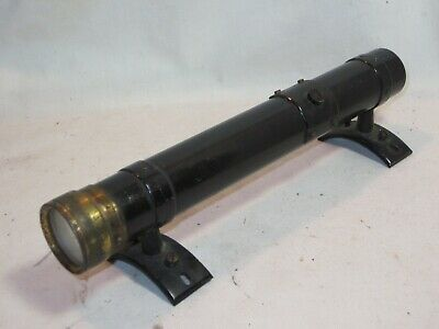 $79.20 • Buy Parts / Repair ? Large Vintage Antique Scope Military ?  Fixed Mount Sight Range