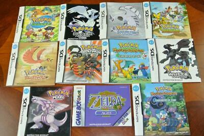 $99.99 • Buy Genuine Nintendo MANUAL Pokemon Mystery Dungeon DS Gameboy Color