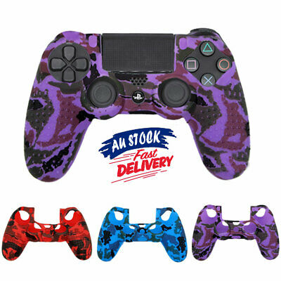 AU10.45 • Buy PS4 Controller Cover Silicone AU Case Skin For Playstation 4 Grip