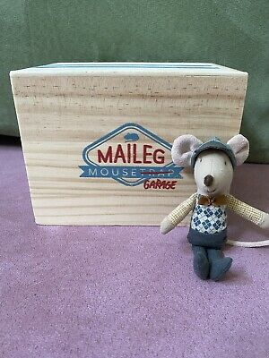 $50 • Buy Maileg Little Brother Mouse And Mouse Garage
