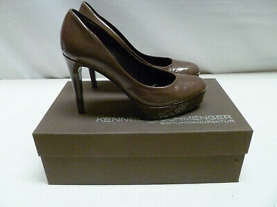 £34.95 • Buy KENNEL & SCHMENGER Shoes Stone Brown Leather Size UK 3 New & Boxed RRP £175