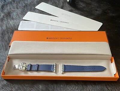 £475 • Buy Brand New Genuine Hermes Apple Watch Leather Strap 44mm Single Tour Deployment