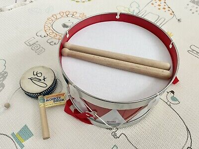 £5.70 • Buy Pre-school/Baby Toy Drum And Sticks, Excellent Condition