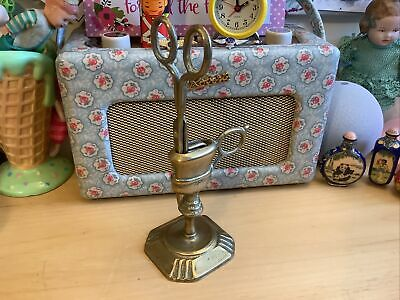 £25 • Buy Victorian /Vintage Brass Candle Wick Trimmer SnufferIn Stand