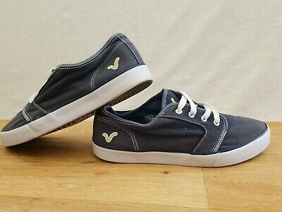 £12.99 • Buy  Voi Jeans Black White Stitching & Classy Logo Pumps Trainers UK 10 EUR 44