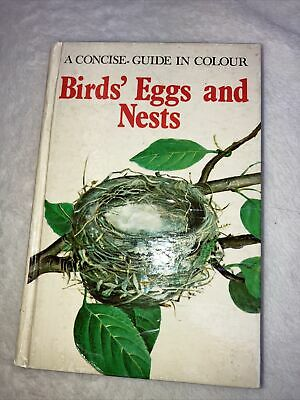 £9.99 • Buy Birds' Eggs And Nests (Concise Guides In Colour) By Hanzak, Jan Hardback Book