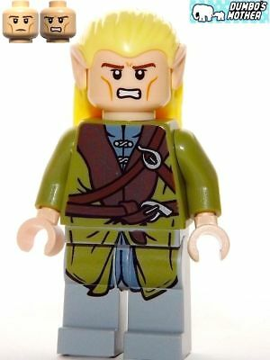 £12.22 • Buy LEGO Legolas Elf 2-Sided Head 9473 Mines Of Moria Lord Of The Rings New