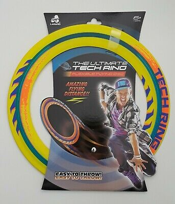 £10.90 • Buy The Ultimate Tech Ring Flexible Flying Disc - Ring Frisbee - Free Shipping!