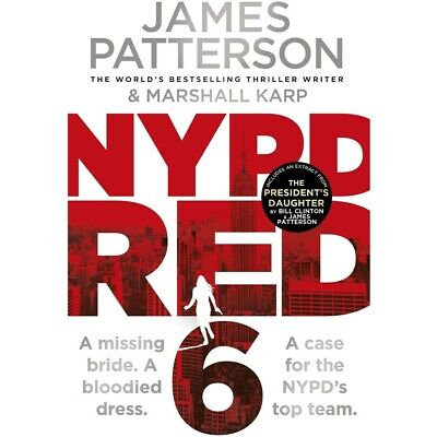 AU12 • Buy NYPD Red 6 By James Patterson