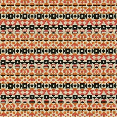 $85 • Buy New Authentic Maharam Arabesque Upholstery Fabric Remnants (2) By Girard